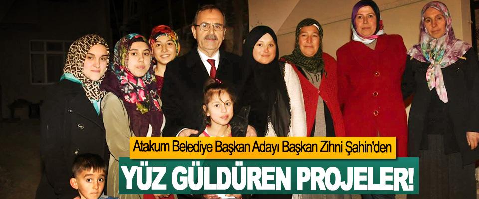 Atakum Belediye Başkan Adayı Başkan Zihni Şahin'den Yüz güldüren projeler!