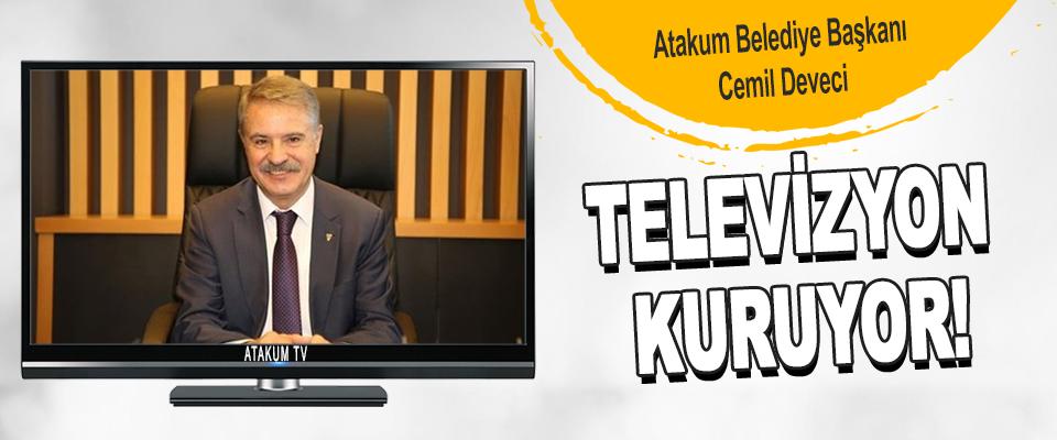 Atakum Belediye Başkanı Cemil Deveci Televizyon Kuruyor!