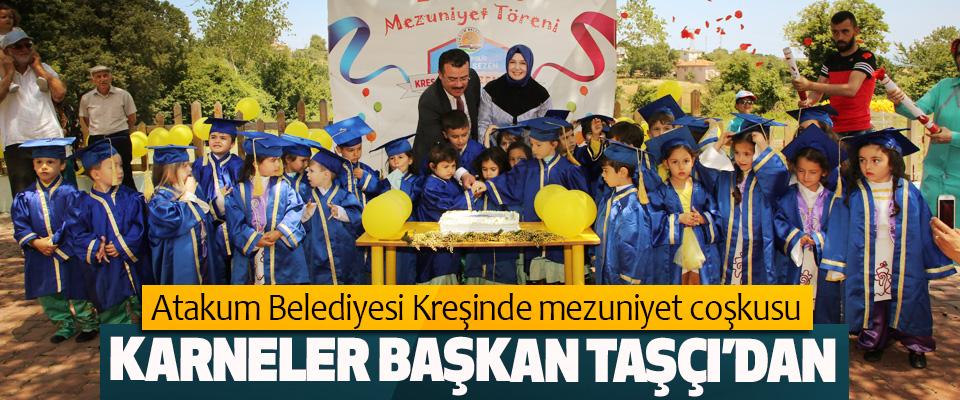 Atakum Belediyesi Kreşinde mezuniyet coşkusu