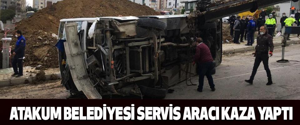 Atakum Belediyesi Servis Aracı Kaza Yaptı!