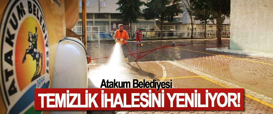 Atakum Belediyesi Temizlik İhalesini Yeniliyor!