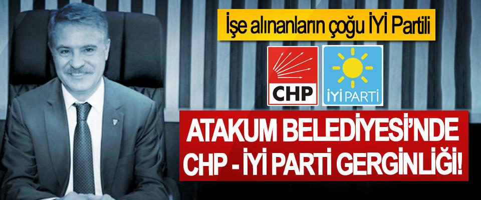 Atakum Belediyesi'nde CHP-İyi Parti gerginliği!