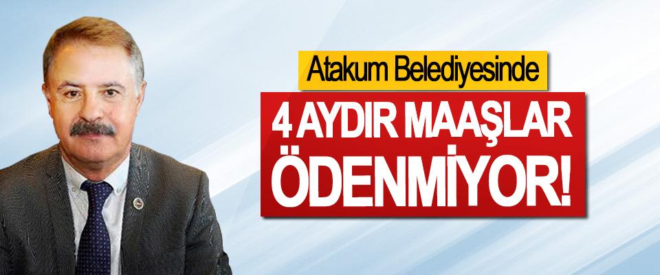 Atakum Belediyesinde 4 aydır maaşlar ödenmiyor!
