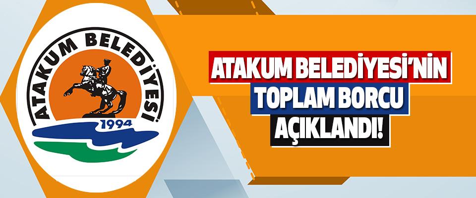 Atakum Belediyesi'nin Toplam Borcu Açıklandı!