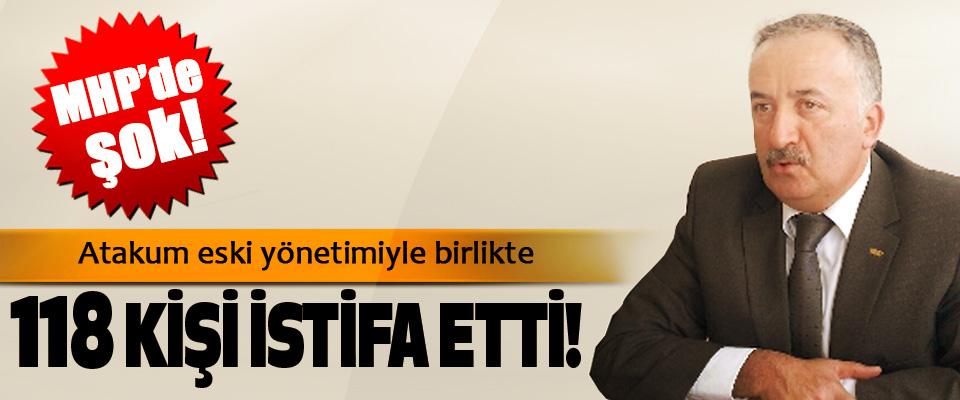 Atakum MHP eski yönetimiyle birlikte 118 KİŞİ İstifa Etti!