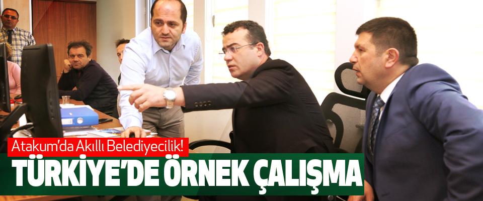 Atakum'da Akıllı Belediyecilik!