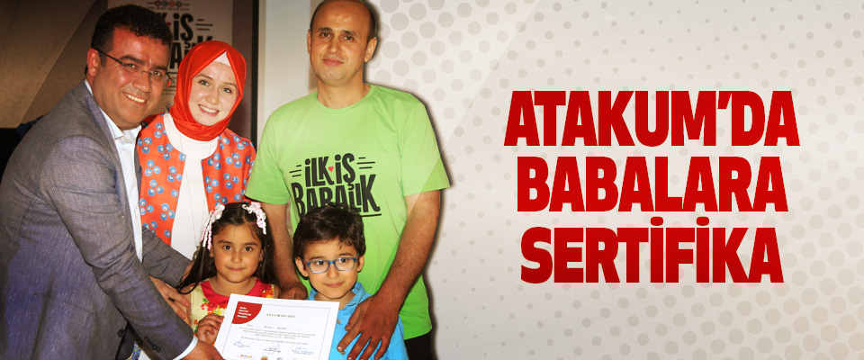 Atakum'da Babalara Sertifika
