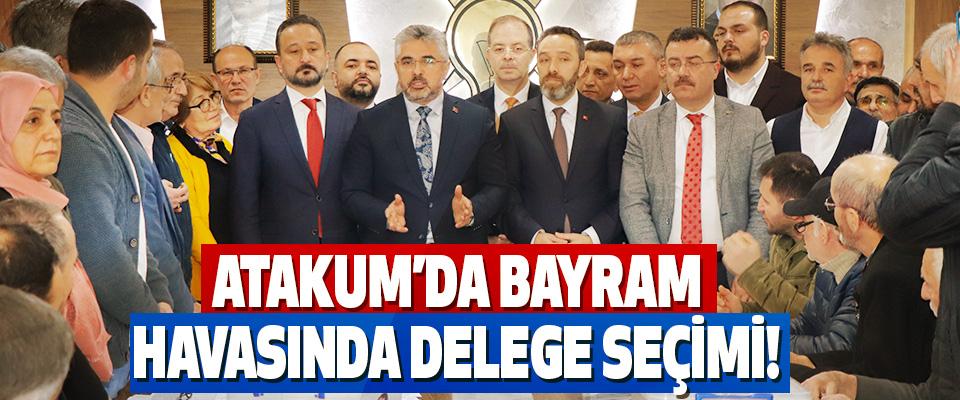 Atakum'da Bayram Havasında Delege Seçimi!