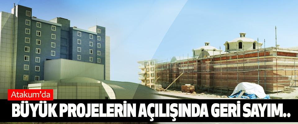 Atakum'da Büyük projelerin açılışında geri sayım..