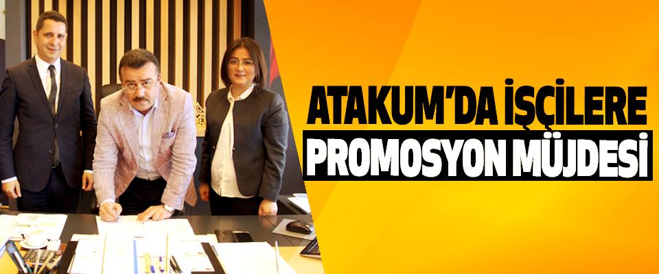 Atakum'da İşçilere Promosyon Müjdesi