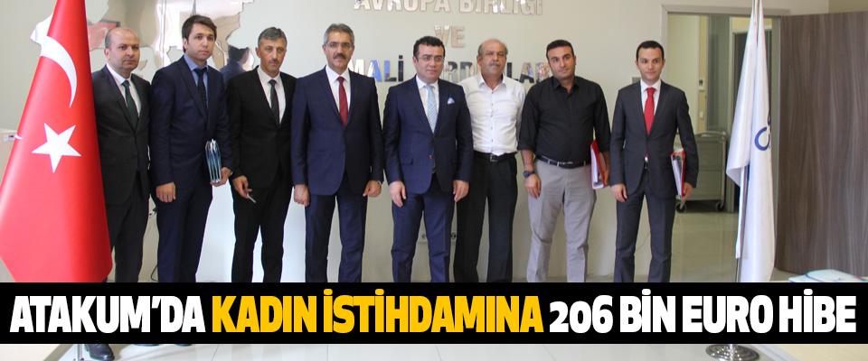 Atakum'da Kadın İstihdamına 206 Bin Euro Hibe