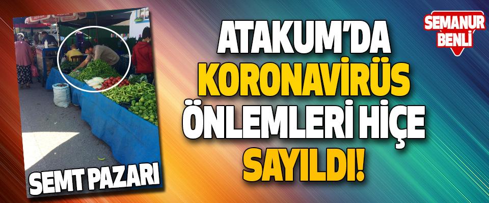 Atakum'da Koronavirüs Önlemleri Hiçe Sayıldı!