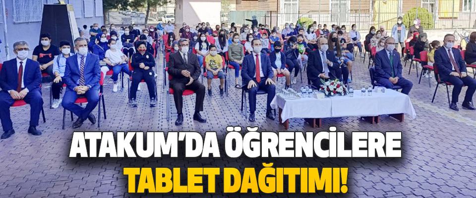 Atakum'da Öğrencilere tablet dağıtımı!