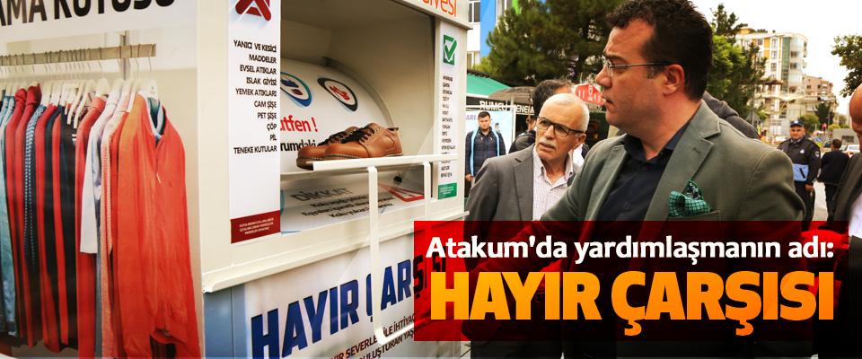 Atakum'da yardımlaşmanın adı: Hayır Çarşısı