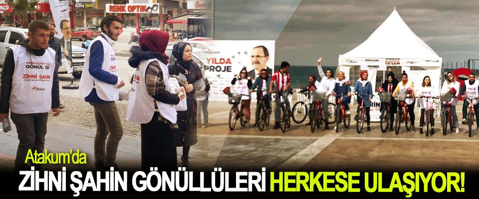 Atakum'da zihni şahin gönüllüleri Herkese ulaşıyor!