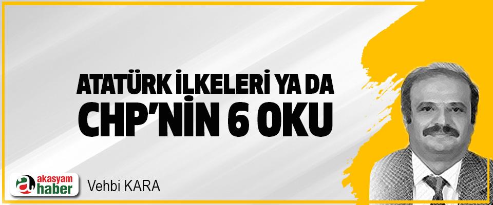 Atatürk İlkeleri Ya da CHP'nin 6 Oku
