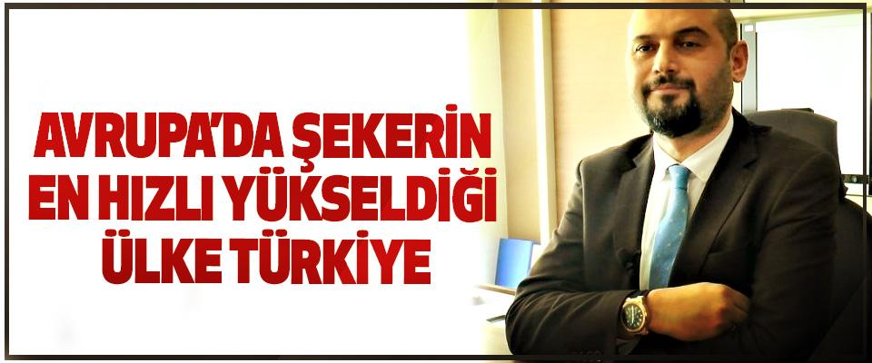 Avrupa'da Şekerin En Hızlı Yükseldiği Ülke Türkiye