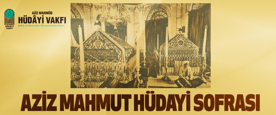 Aziz Mahmut Hüdayi Sofrası