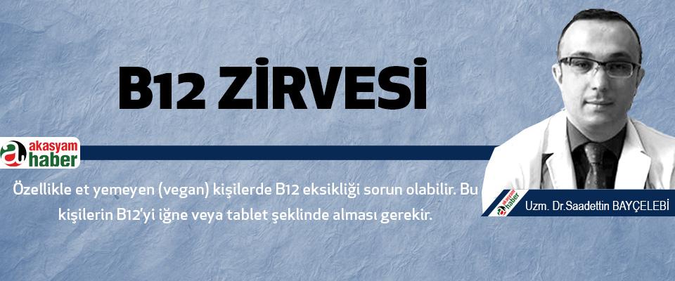 b12 Zirvesi