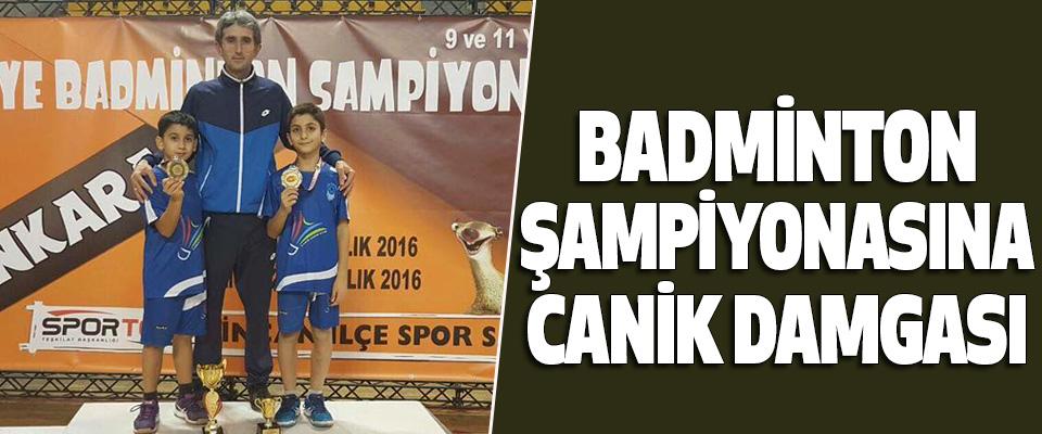 Badminton Şampiyonasına Canik Damgası