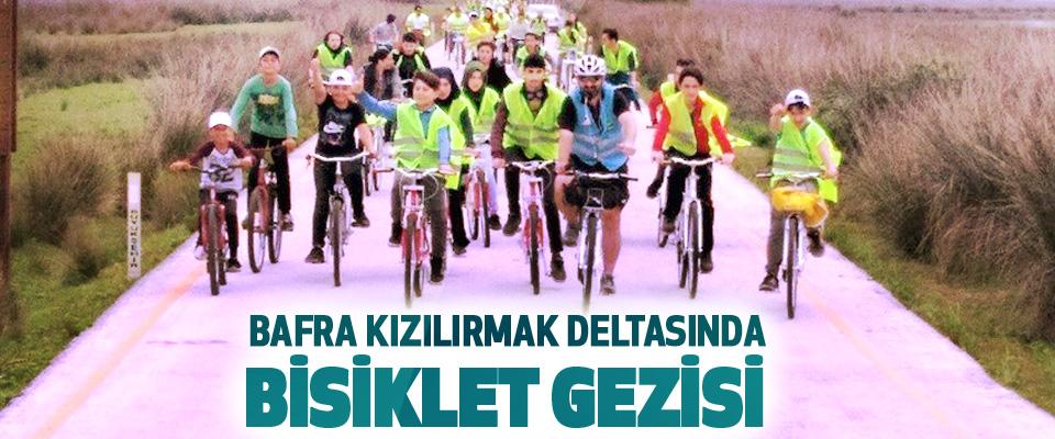 Bafra Kızılırmak Deltasında Bisiklet Gezisi