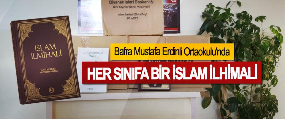 Bafra Mustafa Erdinli Ortaokulu'nda Her Sınıfa Bir İslam İlhimali