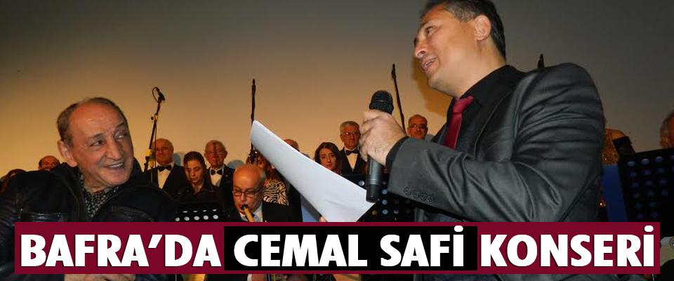 Bafra'da Cemal Safi Konseri