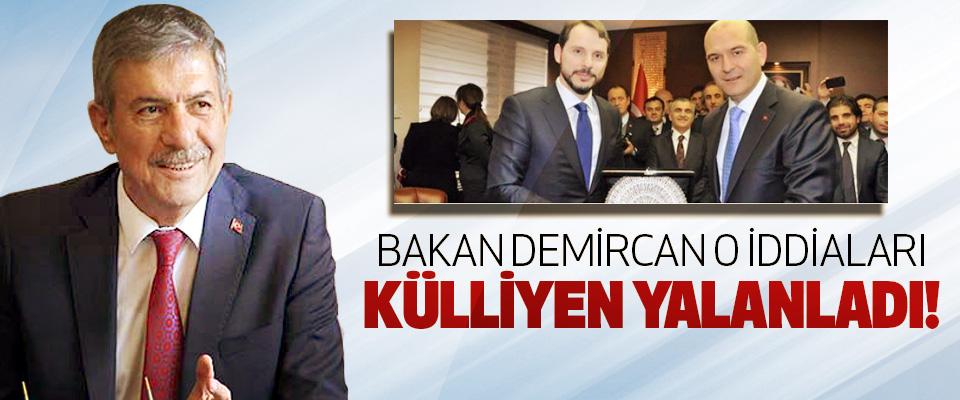 Bakan Demircan o iddiaları külliyen yalanladı!