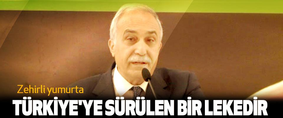 Bakanı Fakıbaba; Zehirli yumurta Türkiye'ye Sürülen Bir Lekedir