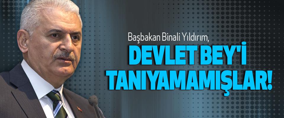 Başbakan Binali Yıldırım, devlet bey'i tanıyamamışlar!