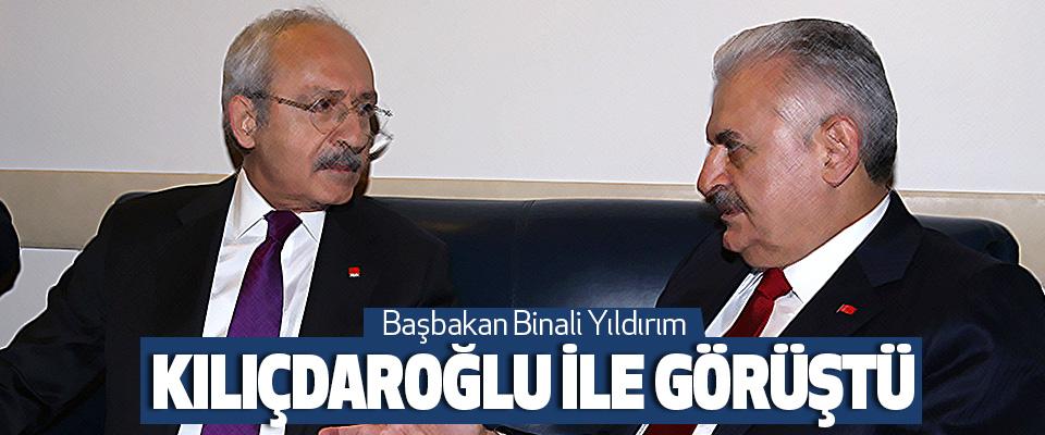 Başbakan Binali Yıldırım Kılıçdaroğlu İle Görüştü
