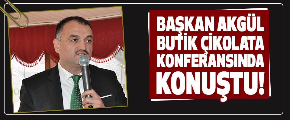 Başkan Akgül Butik Çikolata Konferansında Konuştu!