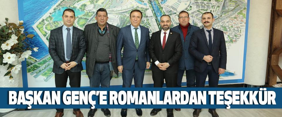 Başkan Genç'e Romanlardan Teşekkür