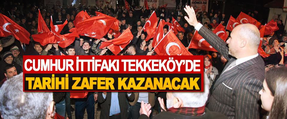Başkan Togar: Cumhur İttifakı Tekkeköy'de Tarihi Zafer Kazanacak