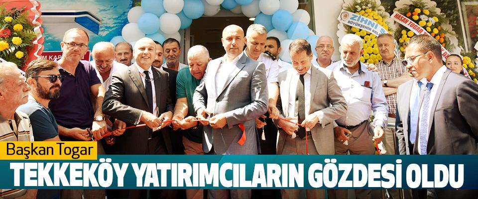 Başkan Togar, Tekkeköy Yatırımcıların Gözdesi Oldu