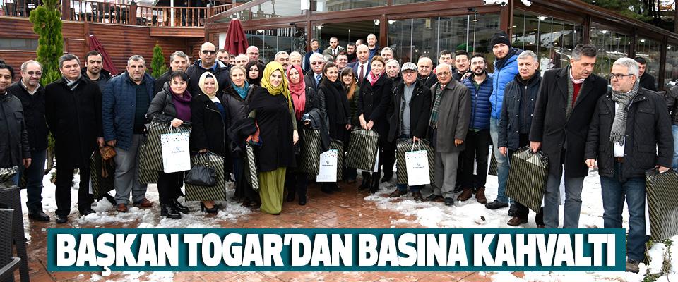 Başkan Togar'dan Basına Kahvaltı