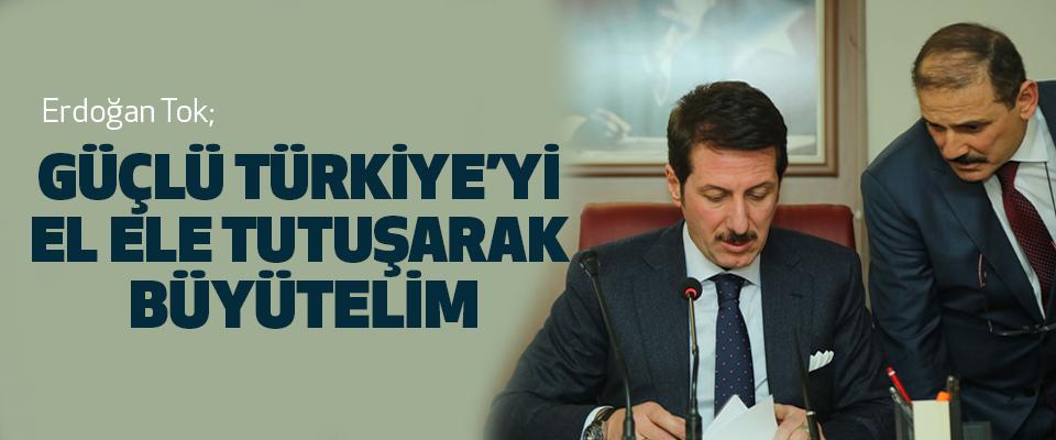 Başkan Tok'tan Teröre karşı birlik mesajı