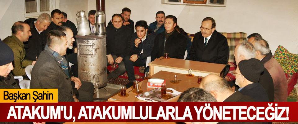 Başkan Zihni: Atakum'u, Atakumlularla Yöneteceğiz