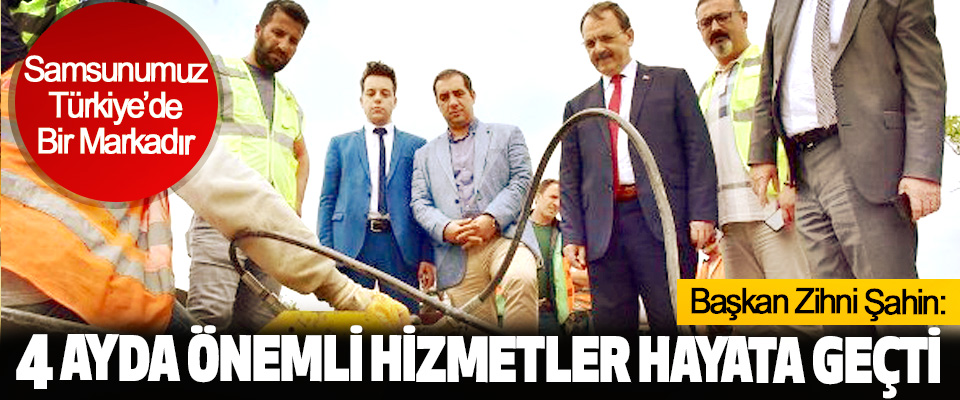 Başkan Zihni Şahin: Samsunumuz Türkiye'de Bir Markadır