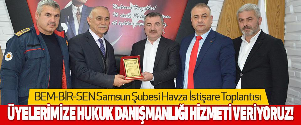 BEM-BİR-SEN Samsun Şubesi Havza İstişare Toplantısı