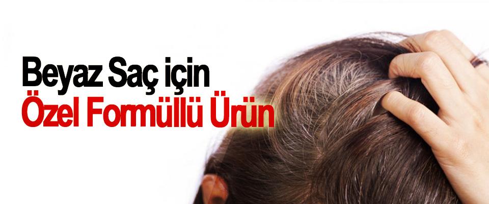 Beyaz Saç için Özel Formüllü Ürün