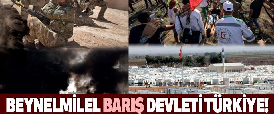 Beynelmilel Barış Devleti Türkiye!