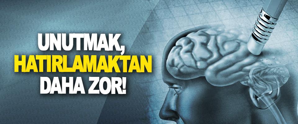 Bilim açıkladı: unutmak, hatırlamaktan daha zor!