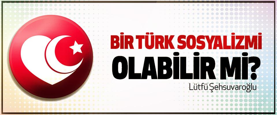 Bir türk sosyalizmi olabilir mi?