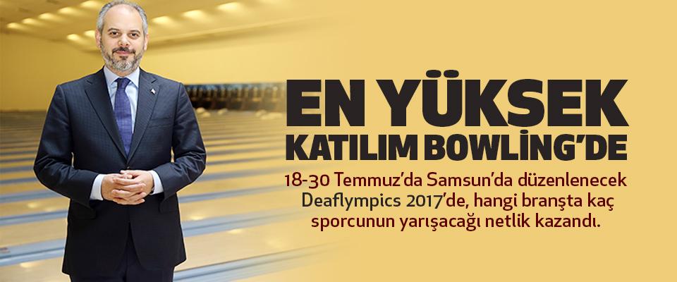 Bireyselde En Kalabalık Bowling, Takım Sporlarında Futbol..
