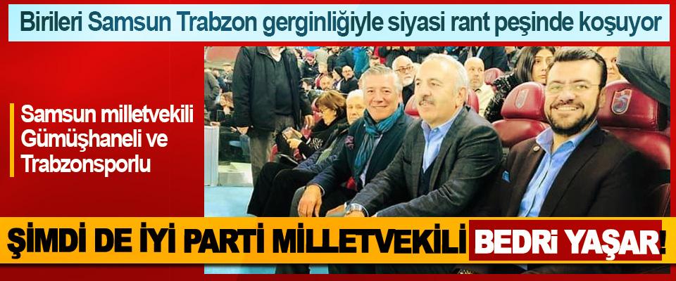 Birileri Samsun Trabzon gerginliğiyle siyasi rant peşinde koşuyor