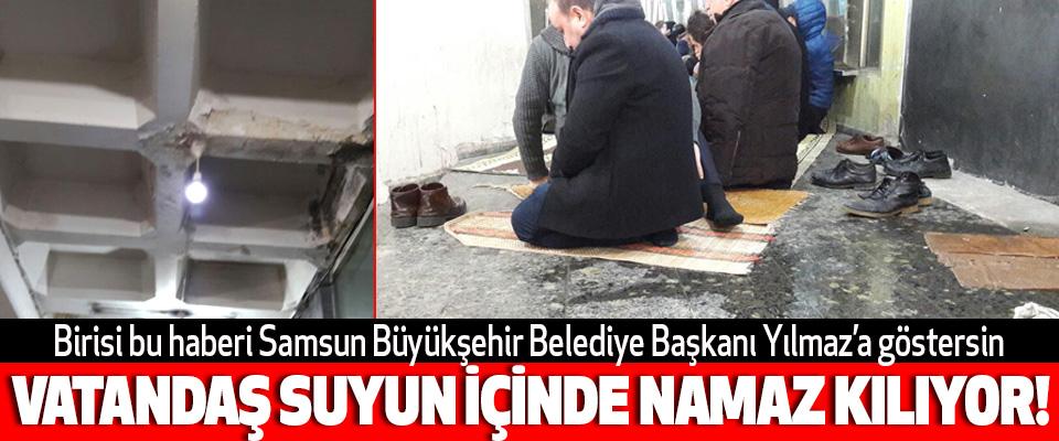 Birisi bu haberi Samsun Büyükşehir Belediye Başkanı Yılmaz'a göstersin
