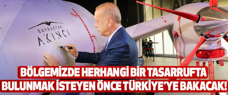 Bölgemizde herhangi bir tasarrufta bulunmak isteyen önce türkiye'ye bakacak!