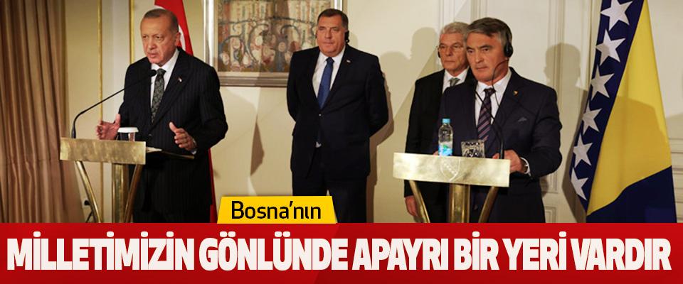 Bosna'nın Milletimizin Gönlünde Apayrı Bir Yeri Vardır