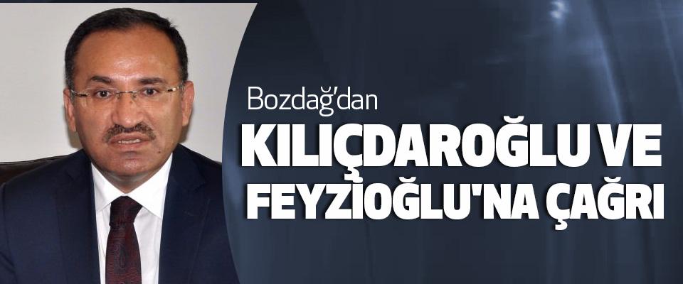 Bozdağ'dan Kılıçdaroğlu Ve Feyzioğlu'na Çağrı